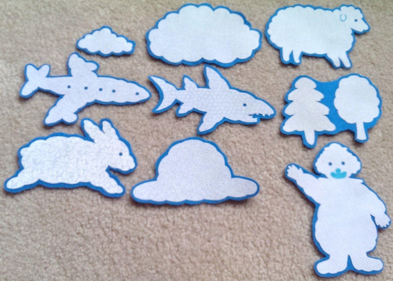 Little Cloud Flannel Felt Board Story In