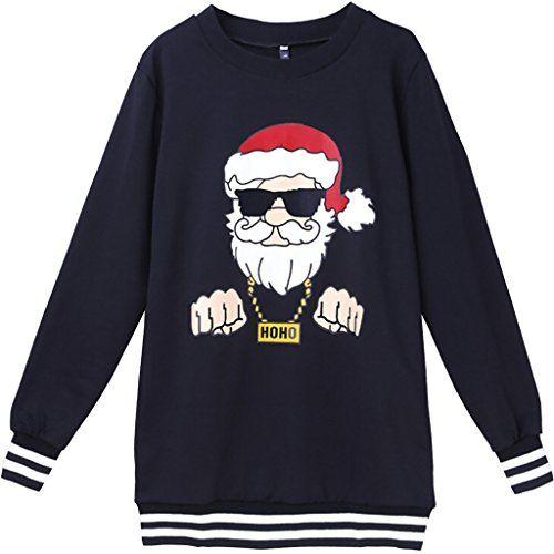 Christmas Sweatshirts Santa Hoodie Christmas Hoody Santa Sweater Christmas Sweater In Grey. Christmas Hoodie