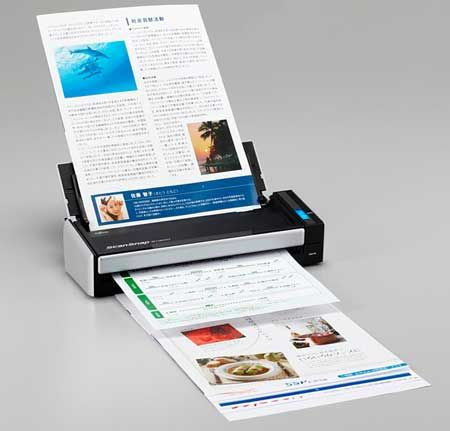 Fujitsu Scansnap S1300 Double sided portable scanner - runs off USB port - 8-16 pages per min scan speed - AWESOME machine