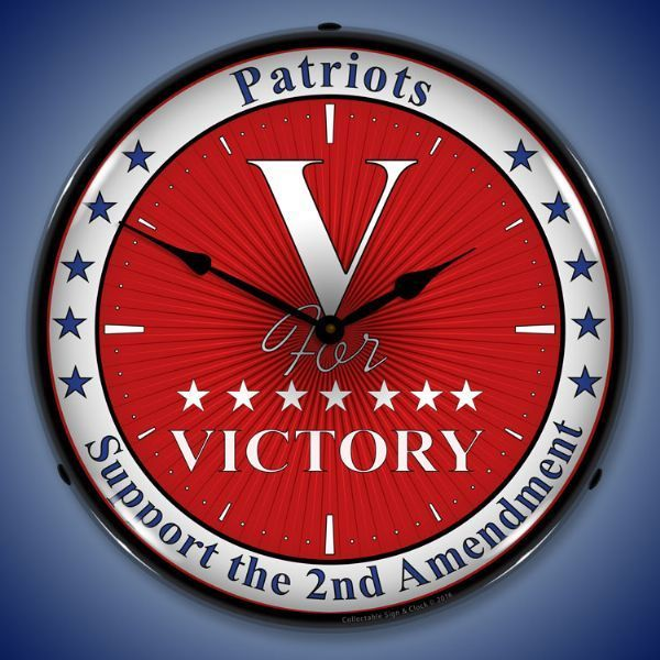 Victory Led Lighted Wall Clock 14 X 14 Inches Wall Clock Light Wall Clock Clock
