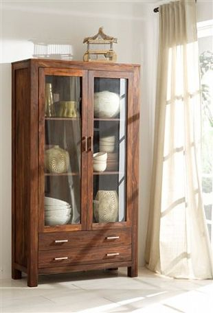 Armoire vitrée $1795 Collection Kerala Pinterest
