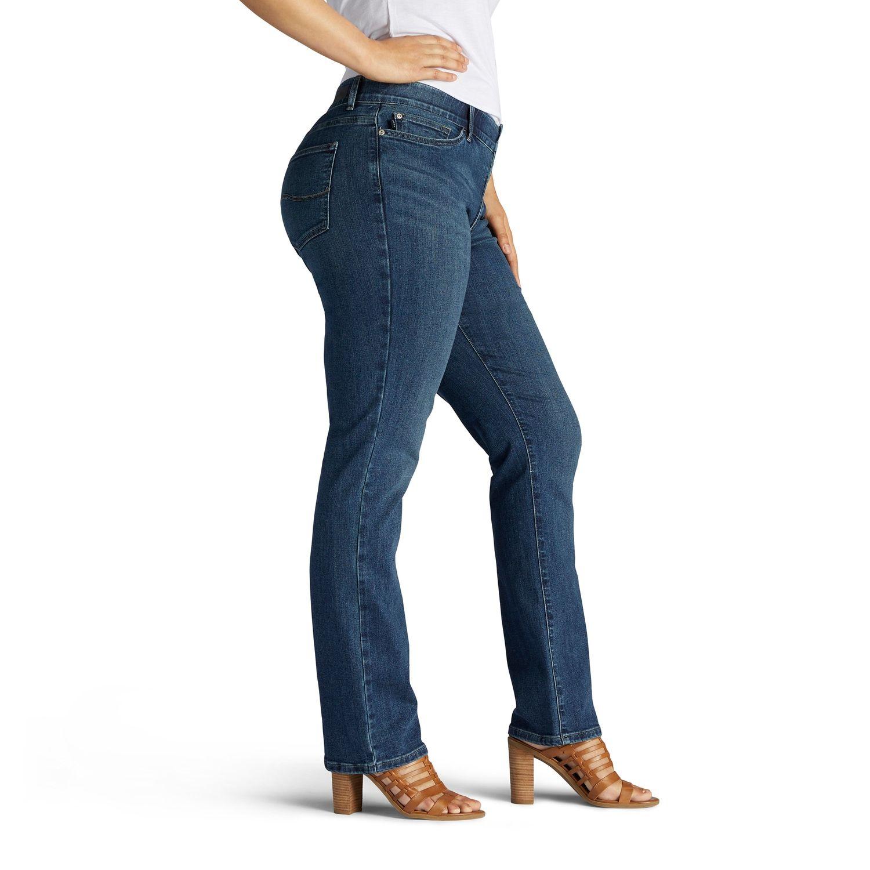 fd6d8f32c4c7d6 Plus Size Lee Flex Motion Regular Fit Straight-Leg Jeans #Flex, #Motion, # Size, #Lee