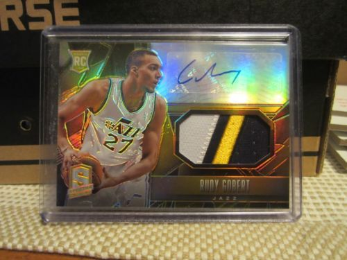2013-14-PANINI-SPECTRA-RUDY-GOBERT-3-COLOR-PATCH-AUTO-RC-1-10