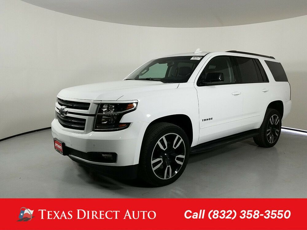 2018 Chevrolet Tahoe Premier Texas Direct Auto 2018 Premier Used