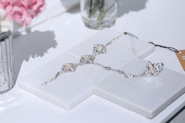 Bridal Bracelet Ring Chic wedding jewellery set – Hello Lovers Australia