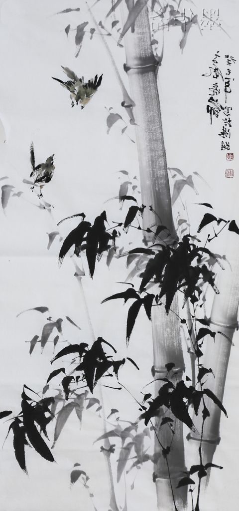 Famous Japanese Watercolor Artists Chinese Ink And Wash Painting