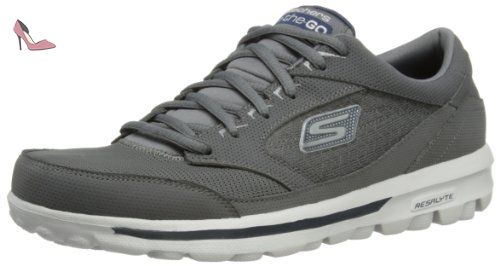 Skechers Go Run 400, Chaussures Multisport Outdoor Homme, Gris (CCNV), 40 EU