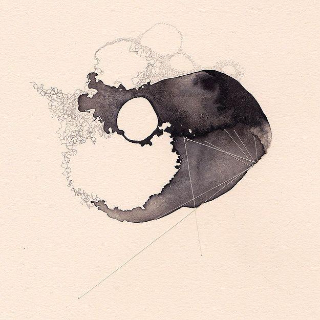 Stacey Rees Artist Illustrations Dessin Abstrait Dessin Noir