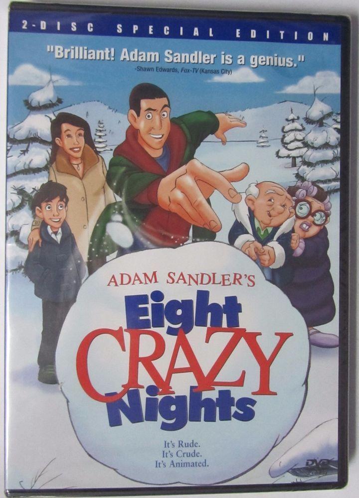 Adam Sandlers Eight Crazy Nights (DVD, 2004, 2Disc Set