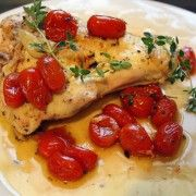 The Comfort of Cooking » Quick Lemon Chicken with Garlic and Tomatoes