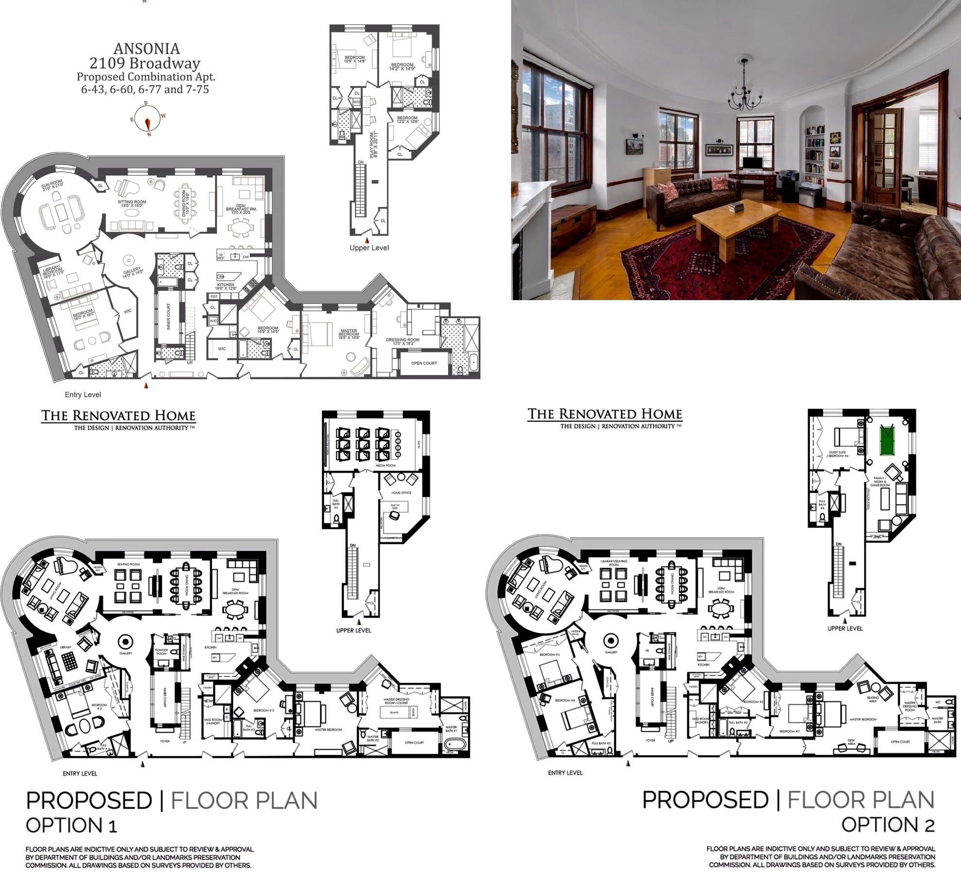 2109 Broadway 6 60 New York Ny 10023 Sales Floorplans Property Records Realtyhop Floor Plans House Plans Apartment Plans