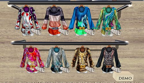Gizza  Tunic Suit  TUNIC SUITS of GIZZA @ MIMI 'S CHOICE  maps.secondlife.com/secondlife/Deep%20House%20Island/162/...