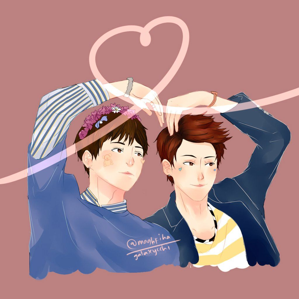 [FA] UP10TION Kuhn & Kogyeol - cr:@maghfiha #UP10TION #업텐션 #KUHN  #쿤 #노수일  #Kogyeol #고결  #ギュジン    #fanart