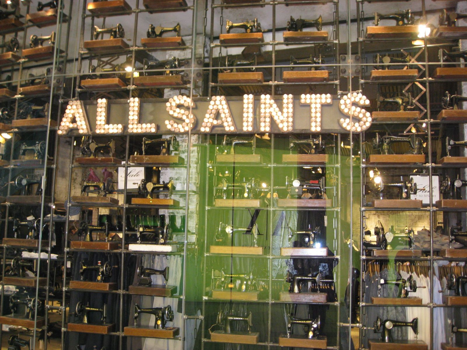 All Saints – Retail Environment