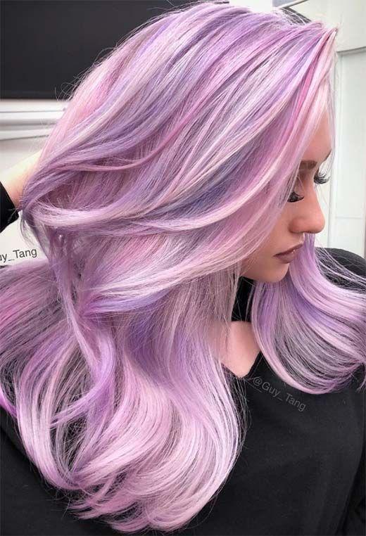 55 Dreamy Lilac Hair Color Ideas: Lilac Hair Dye T