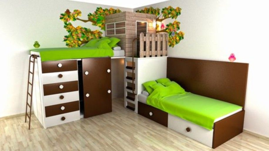 Simple Bed Design For Kids