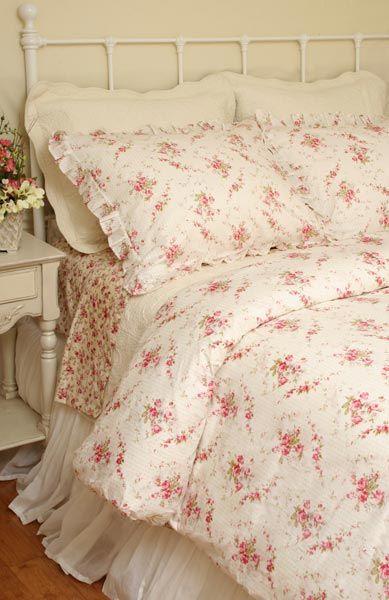 shabby abbey rose chic duvet comforter