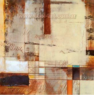 Pintura al oleo a mano tecnicas mixtas relieve y textura - Pintura para craquelar ...