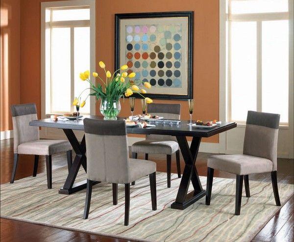 Colores Para Comedores | Comedor Color Terracota Comedor Moderno Modern Dining Room