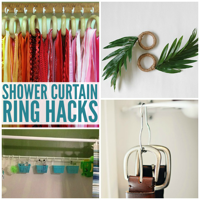 16 Unexpected Ways To Use Shower Curtain Rings Curtains With
