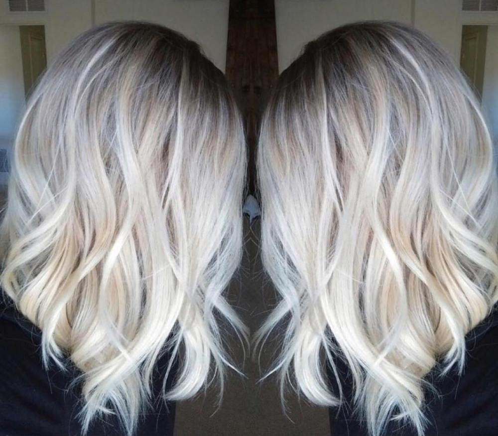 Schulterlange Haare Blond Mittellange Haare