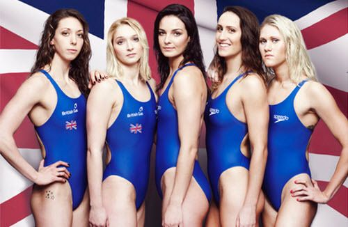 British Women Swim Team! #swimming #swimteam | Female body ...