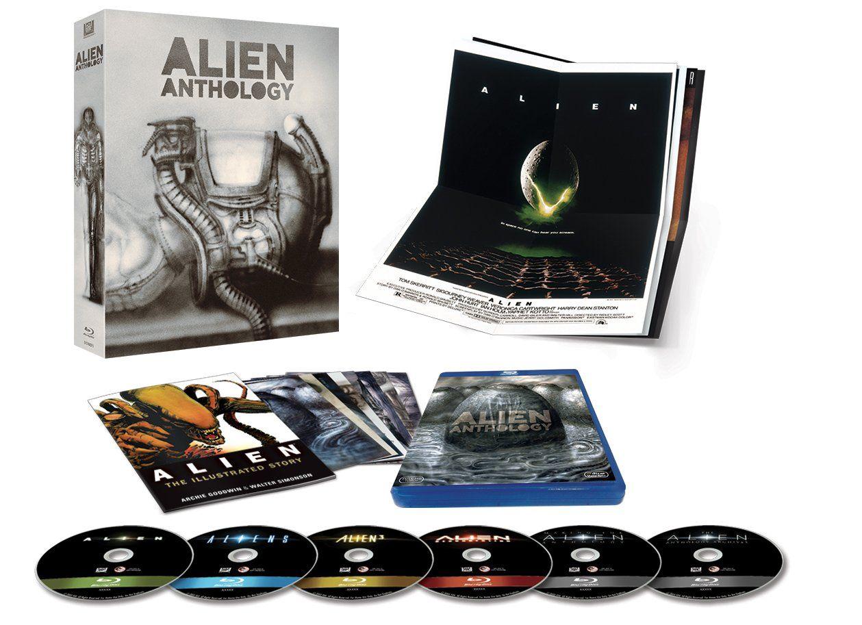 Alien Quadrilogy H R Giger Edition Edizione Limitata Esclusiva Amazon 6 Blu Ray Edition Edizione Giger Alien Alieni Amazon Blu