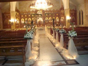 Diy Wedding Decorations For Greek Orthodox Church Syria