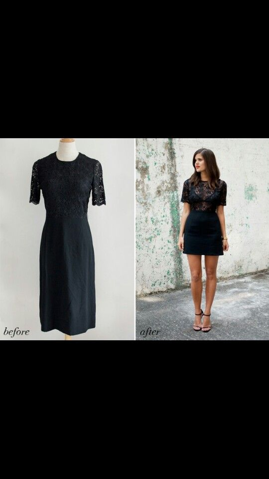 Awesome dress alteration from Elvira's!