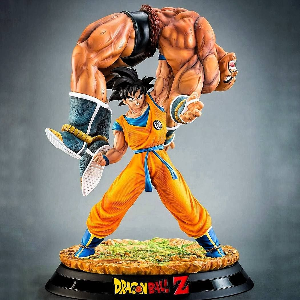 Goku Vs Nappa 1/6 HQS High Quality Statue By Tsume-art