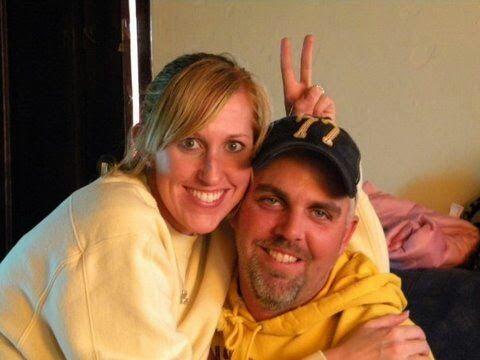 My nephew T R Sheridan and his wife Jessica.