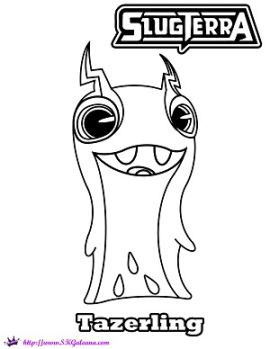 SLUGTERRA: Ghoul from Beyond DVD Info and Coloring Pages