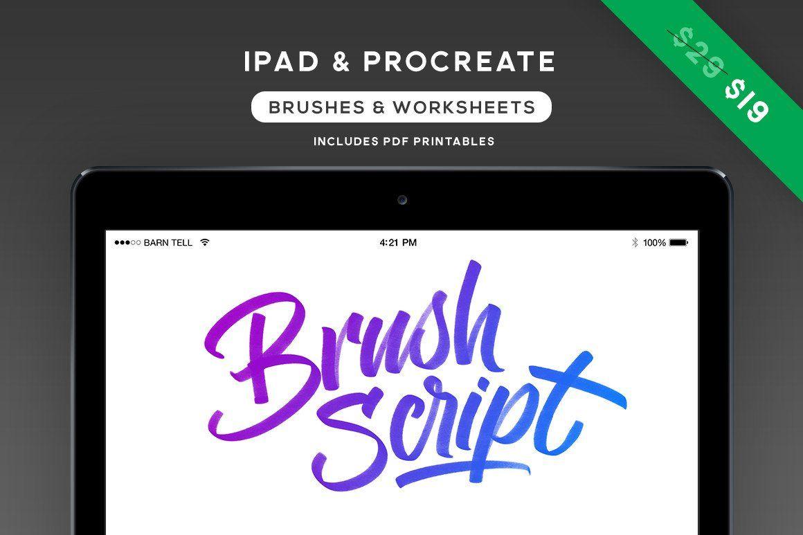 Procreate Brush Script Brushes Amp Worksheets