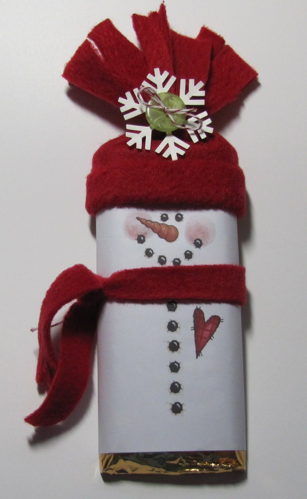 Snowman hats for crafts - Free Snowman Candy Wrapper Templates Stamp With Me Snowman Candy Bar Wrapper