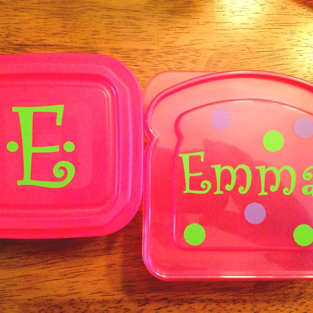 Cupcake Carrier Target Personalized Sandwich And Snack Container$1 Section Of Target