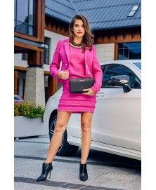 15cb8c1b81 Różowy kostium biznesowy Vivaldi