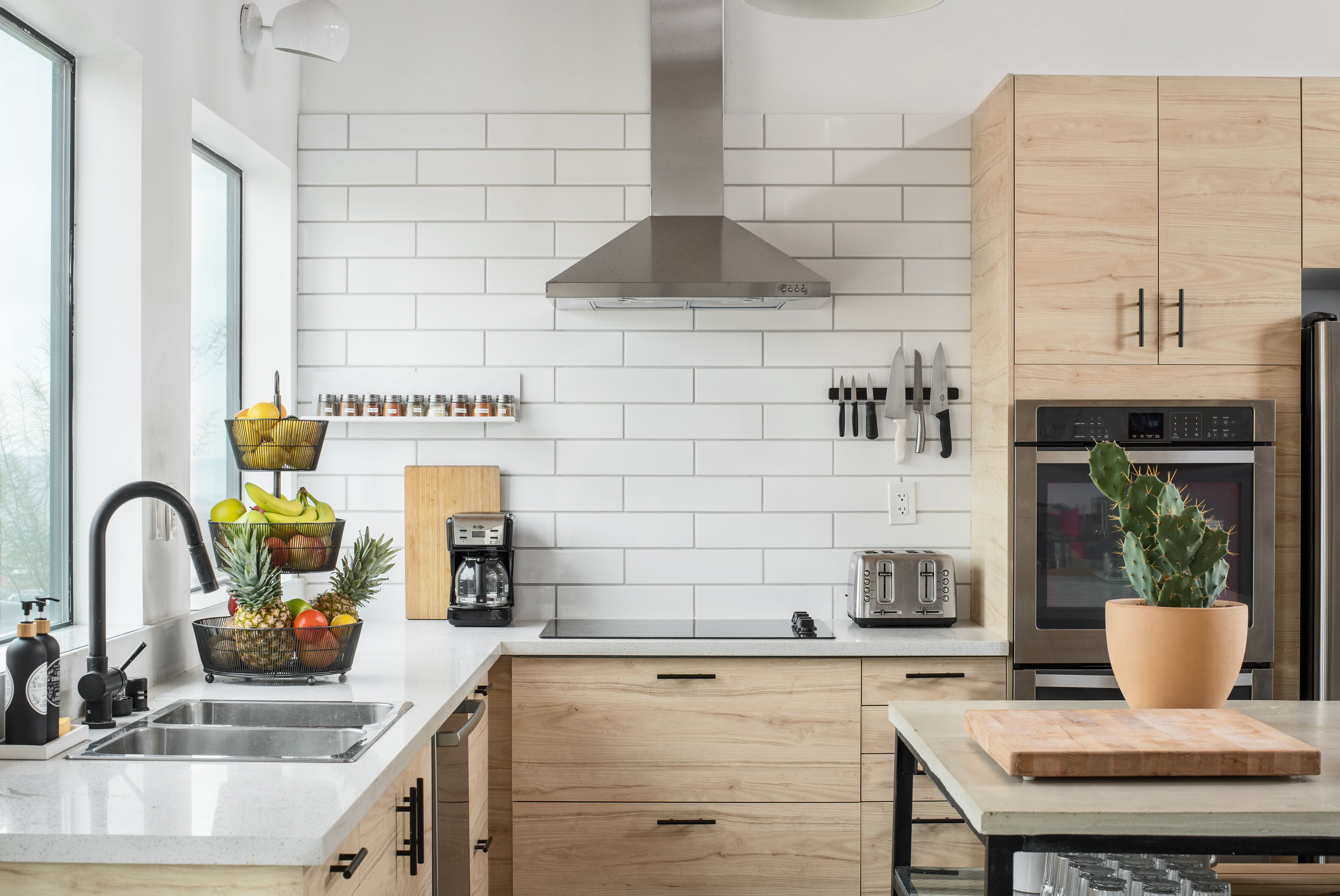 19 Easy Ways To Make Your Ikea Hacks Look Super Professional Hunker In 2020 Composite Countertops Kitchen Cabinets Kitchen Set Cabinet