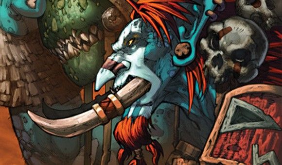 Voljin Shadows Of The Horde World Of Warcraft Horde Pinterest