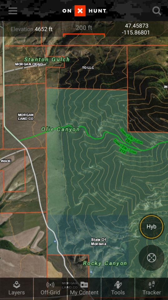 onX Hunting App and Hunting GPS Maps onX Hunting gps