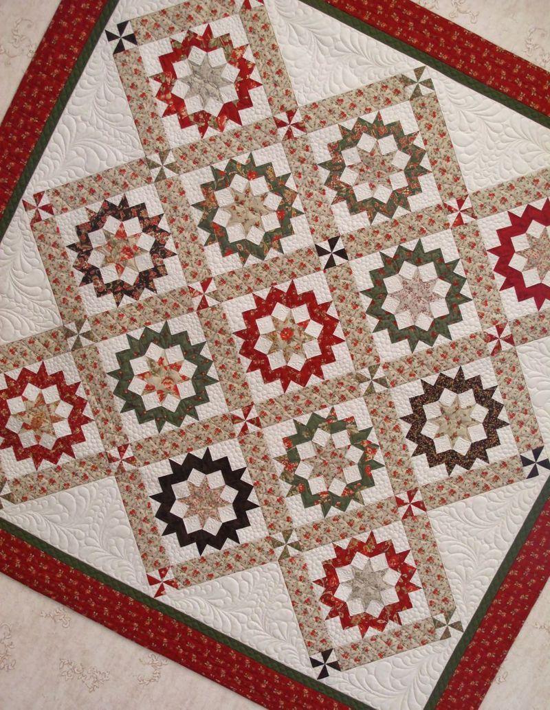 Fig Tree's Butterscotch Tart pattern, # Sisters' Grace collection ... : cornerstone quilt shoppe - Adamdwight.com