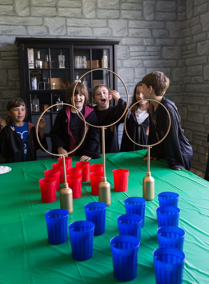 Happening Harry Potter Birthday Party Harry Potter Birthday