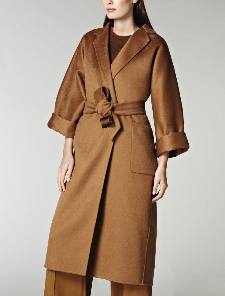 Pure camel icon-coat, camel - Max Mara: | 코트 | Pinterest | Max ...
