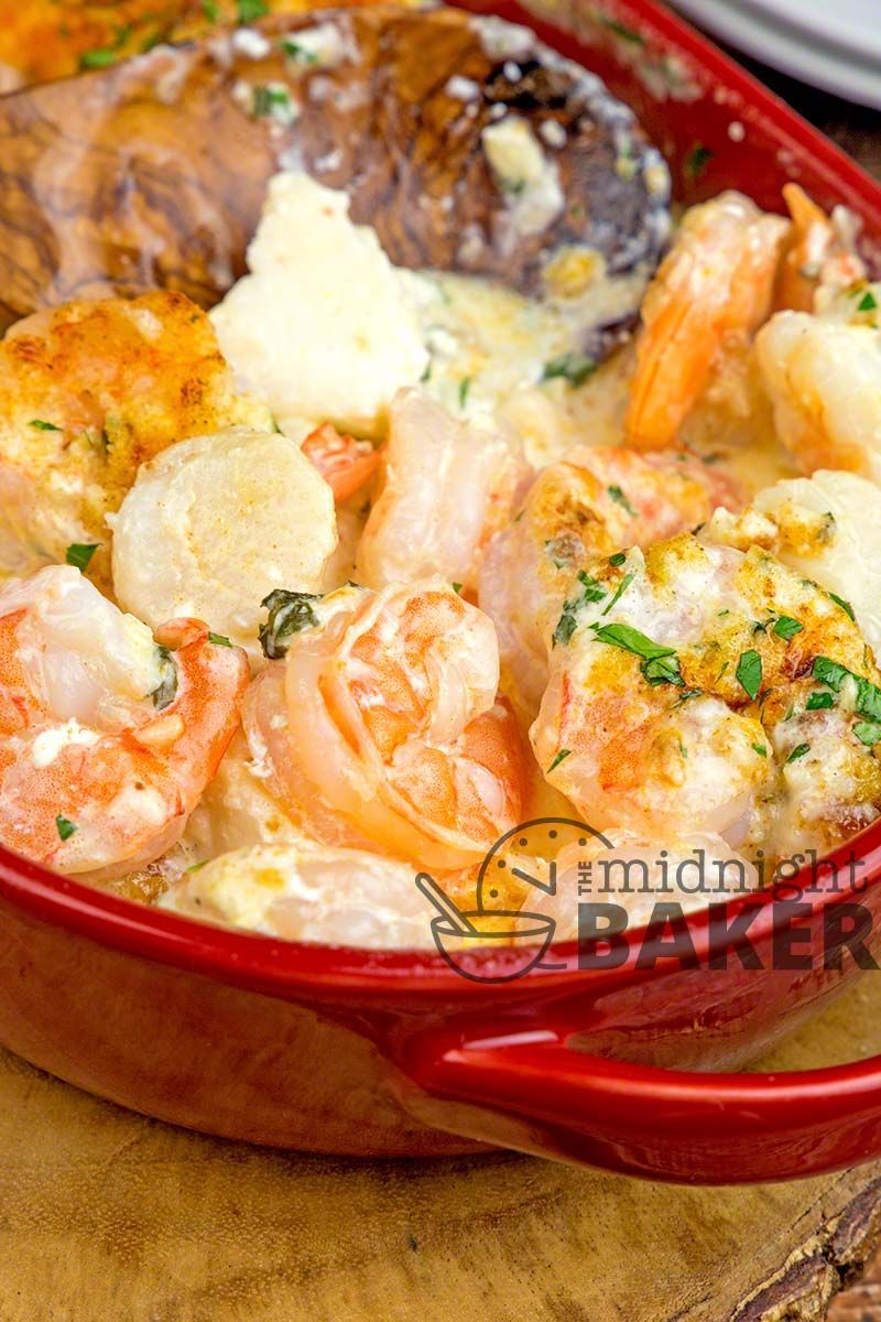 If you love shrimp and scallops youll love this seafood