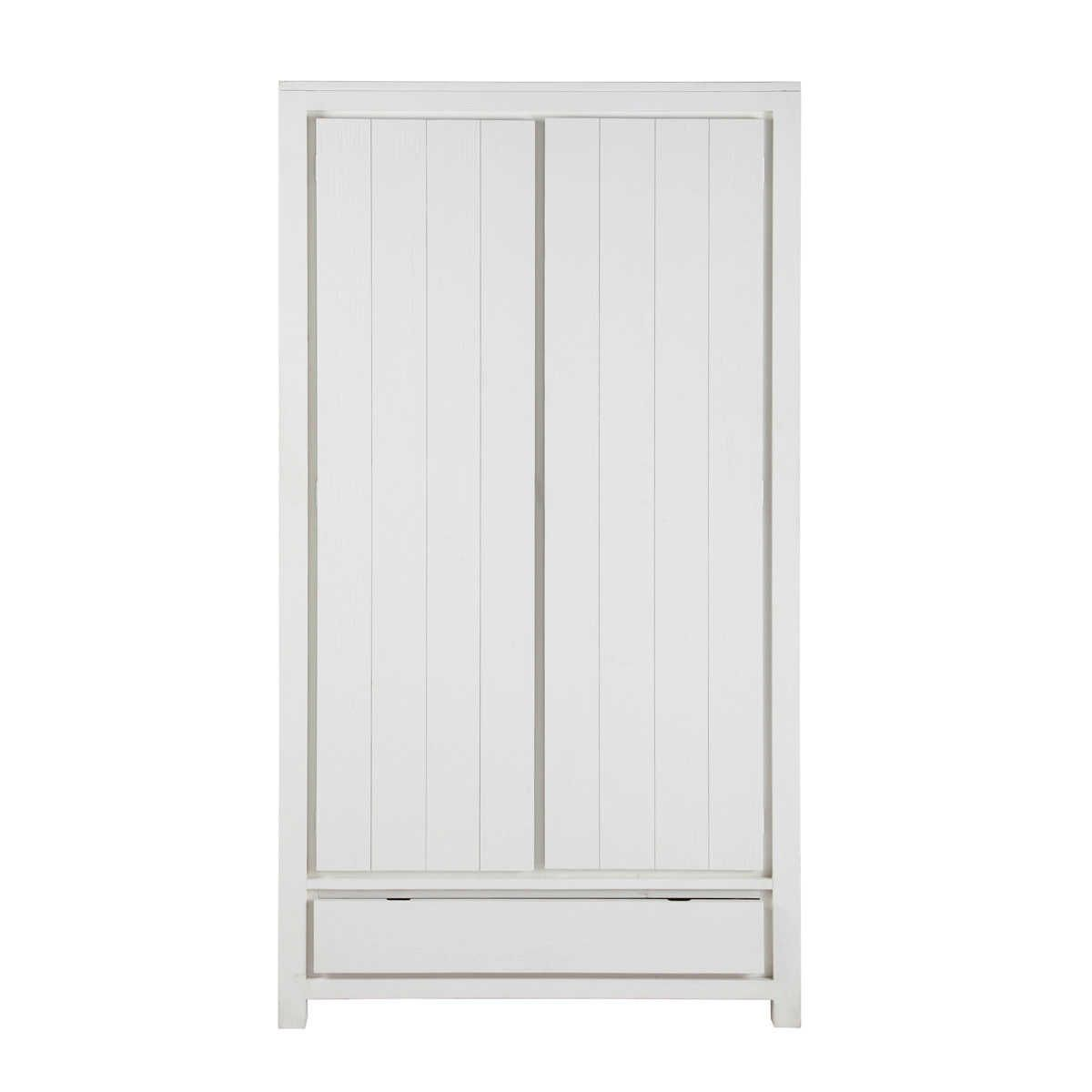 Grote Witte Houten Kast.Massief Dennenhout Witte Garderobe Furniture Deco For Holiday