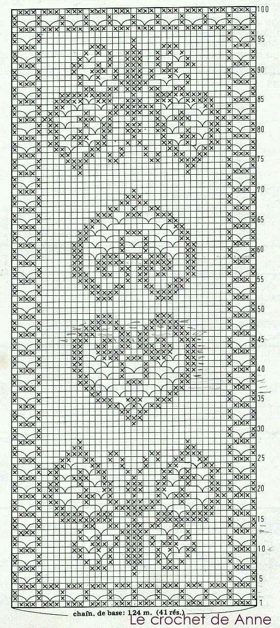 Crochet with butterfly | Crochet that we love | Pinterest | Läufer ...