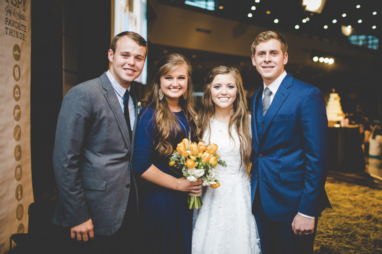 Joy And Austin Forsyth S Wedding Photos Counting On Tlc Duggars Duggar Wedding Duggar Girls