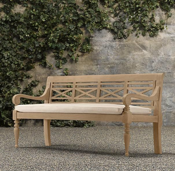 Awesome Saltram Garden Bench