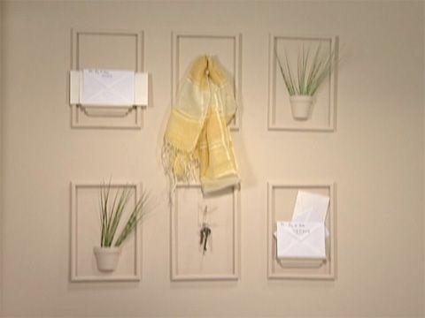 Utilisima Vídeos Pared con objetos integrados Luz en casa