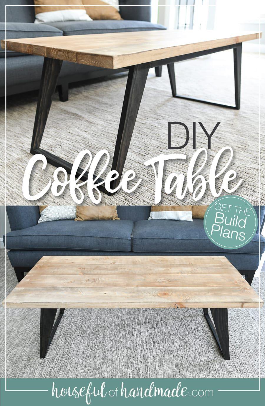 Simple Modern Coffee Table Build Plans In 2020 Wood Coffee Table Diy Diy Coffee Table Coffee Table Plans [ 1378 x 900 Pixel ]