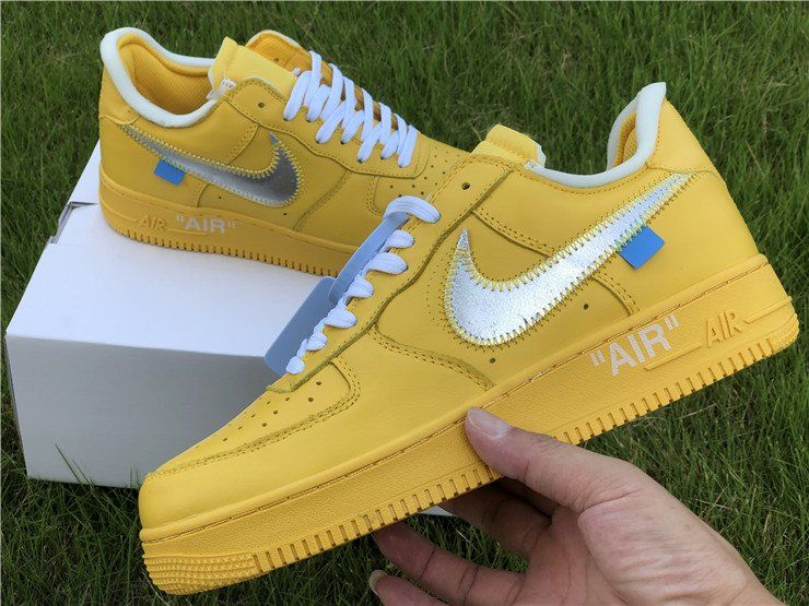 Air Force 1 Low X OffWhite Yellow/Metalic Silver in 2020